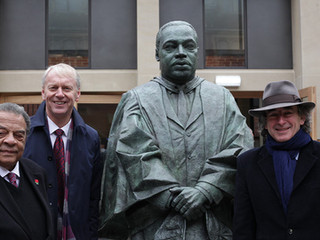 Martin Luther King: Newcastle University unveils statue