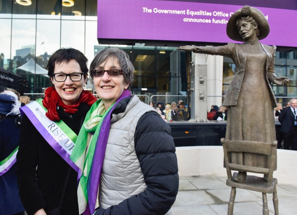 Hazel Reeves & Helen Pankhurst