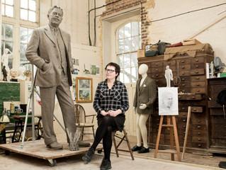 Hazel Reeves - Sir Nigel Gresley statue