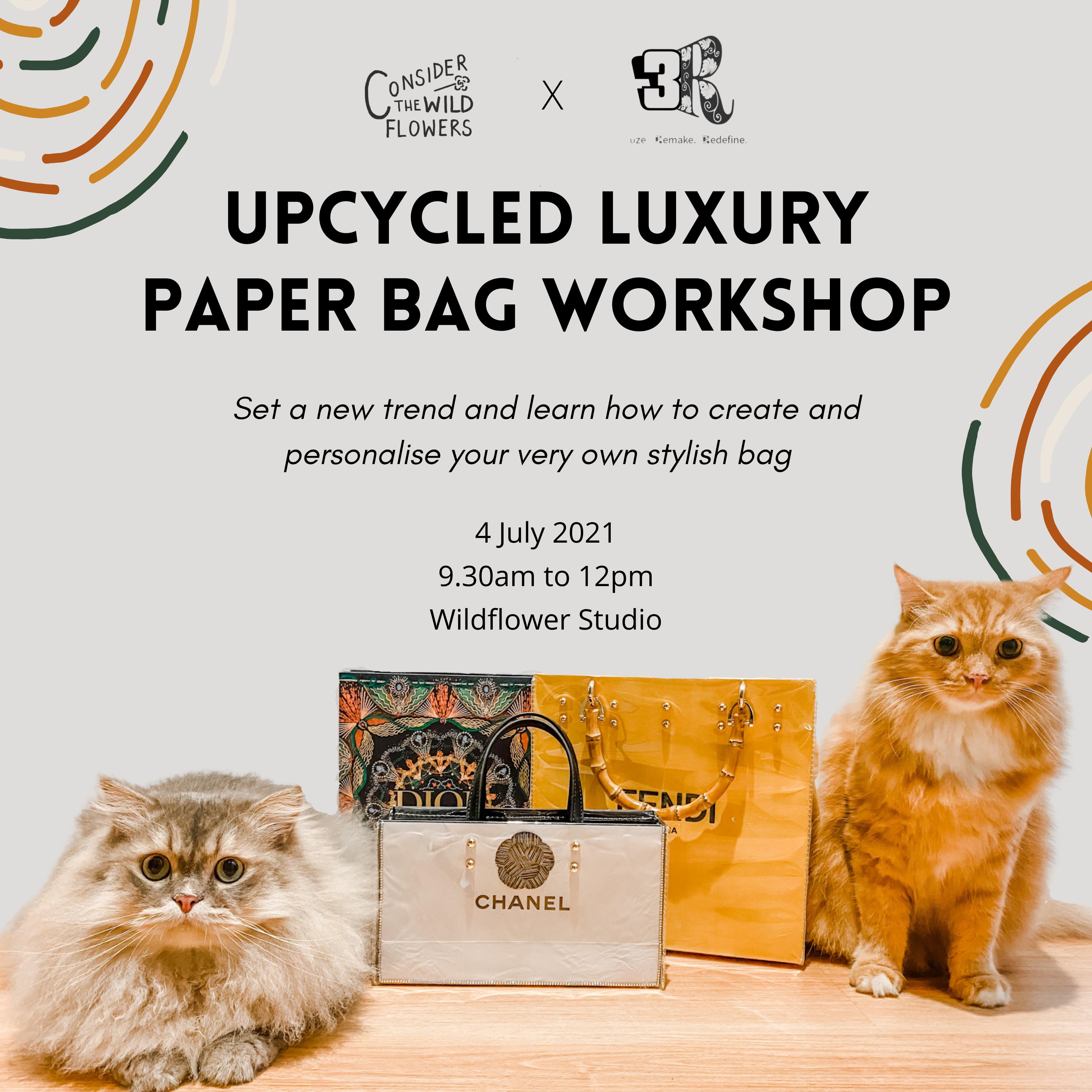 Upcycled Luxury Paper Bag Workshop