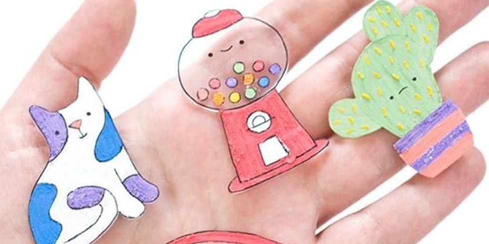 Shrinky plastic Workshop- Children