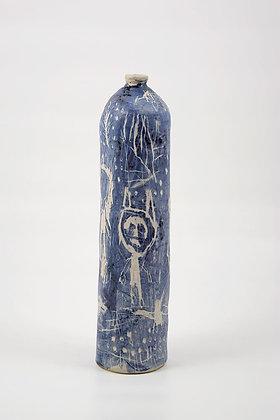 Bouteille sculpture céramique contemporaine Timothée Humbert - Atelier Poétic