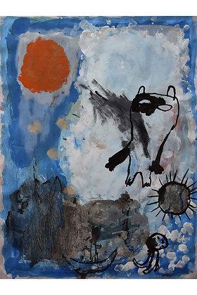 Dessin Timothée Humbert - Tombé du ciel