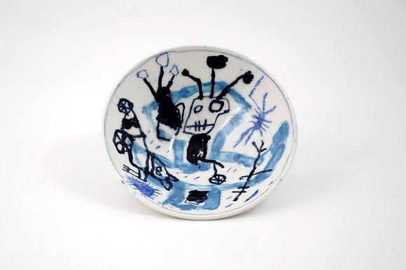 Céramique contemporaine Timothée Humbert - Atelier Poetic - Coupe - Porcelaine émail