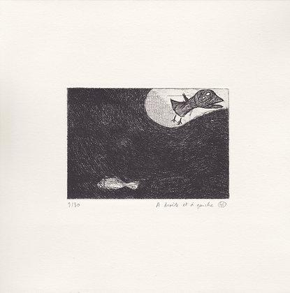 Gravure Timothée Humbert - A gauche à droite