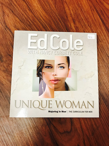 Unique Woman Workbook - Ed & Nancy Cole