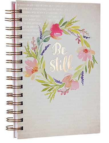 """Be Still"" Psalms 46:10 Journal"