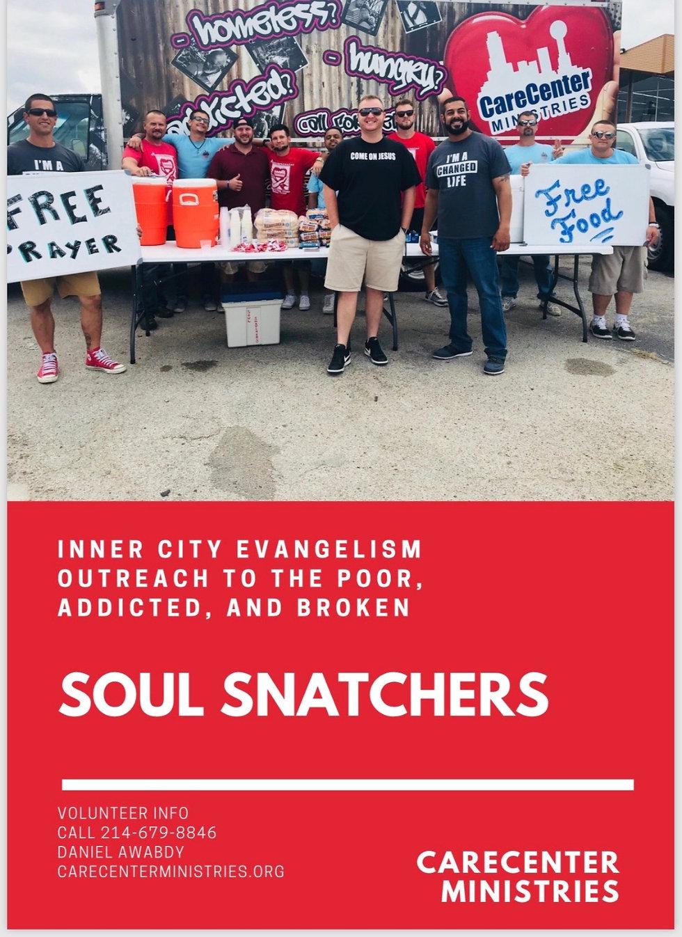 Soul Snatchers evangelism outreach