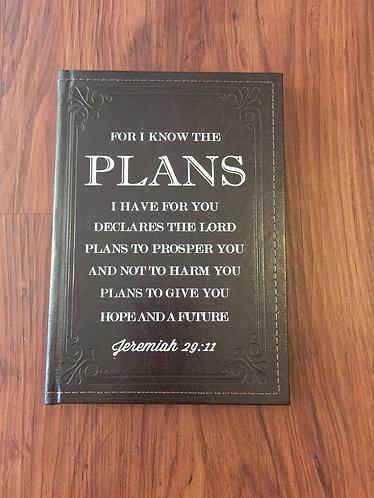 Jeremiah 29:11Journal