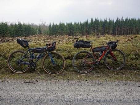 Weekend-bikepacking i Skåne