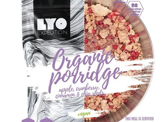 Lyo Porridge med bær, æble og kanel