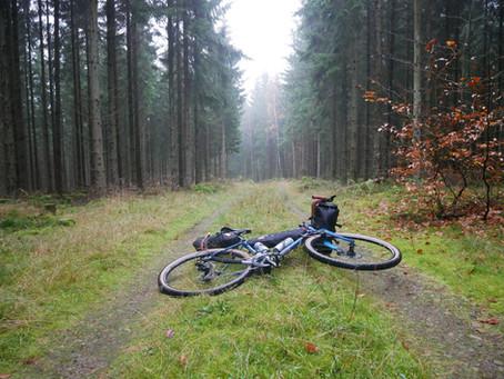 Kort, smuk bikepacking-weekend i Sverige