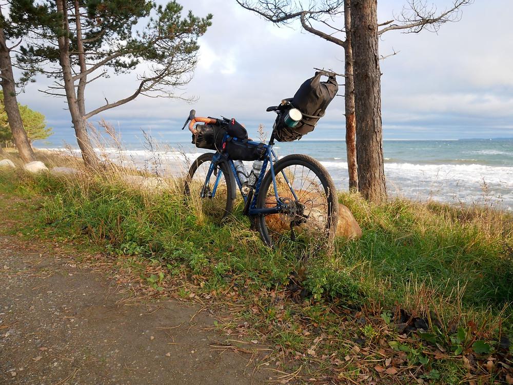 Bikepacking Nordsjælland Danmark