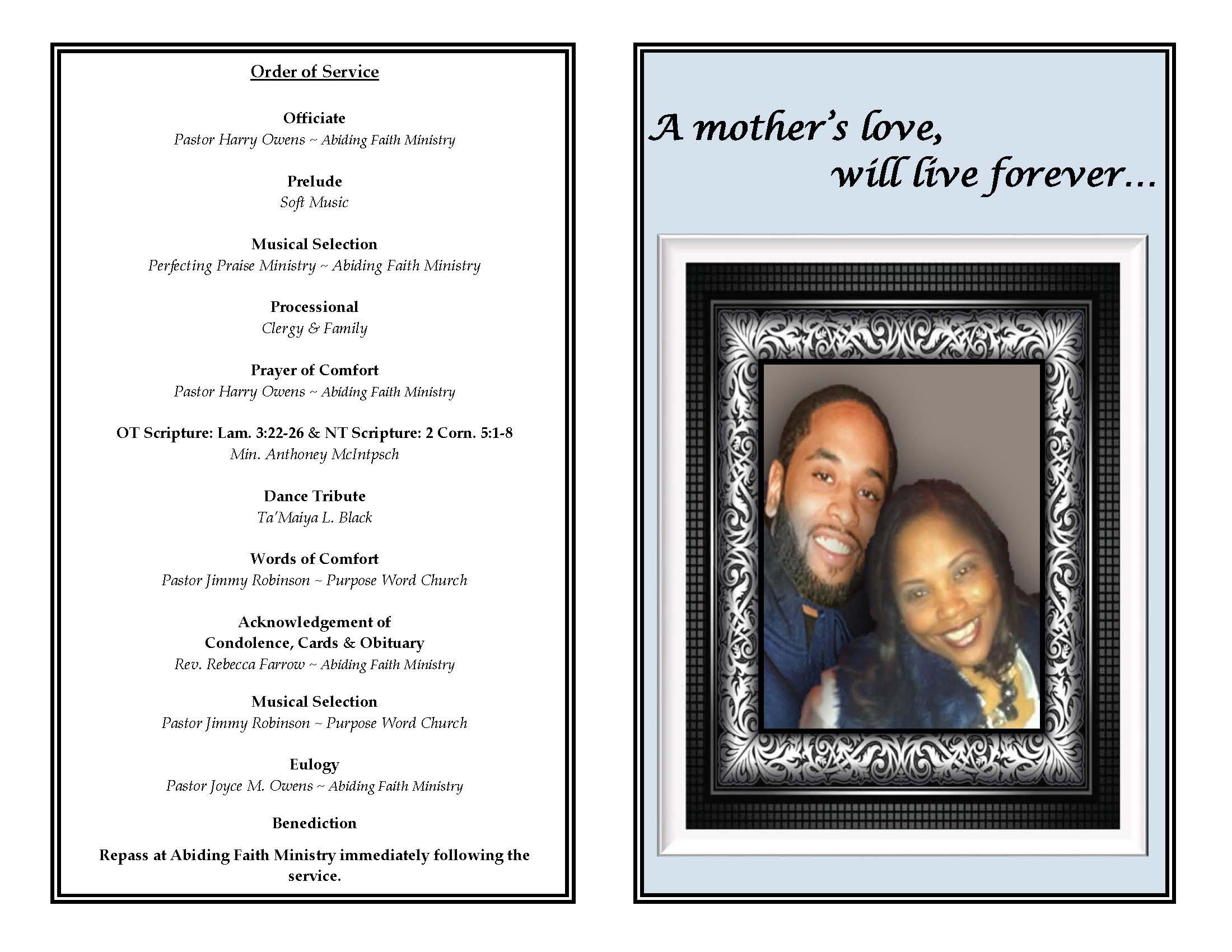 Funeral Program - Terrance Jackson_Page_2