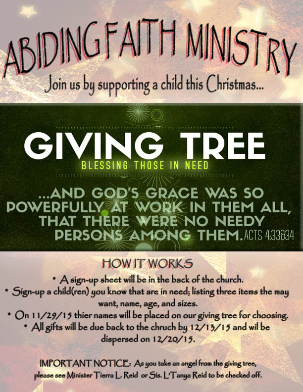 afm giving tree