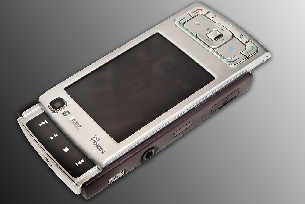 Nokia N95 with 5 MP camera