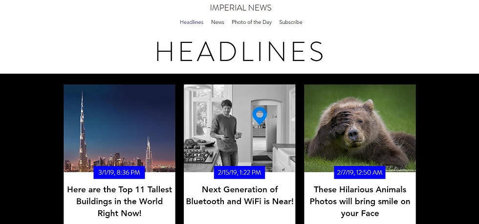 Imperial News