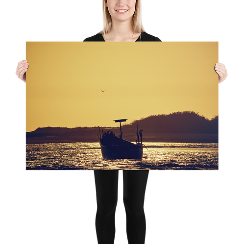Luster Photo Paper Poster - Sunset