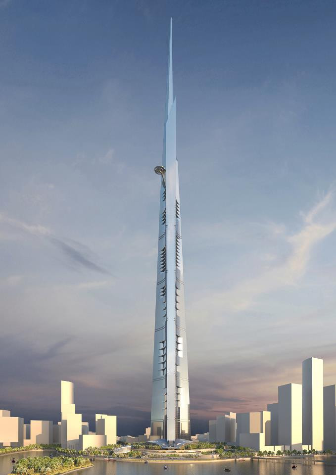 The Jeddah Tower Render
