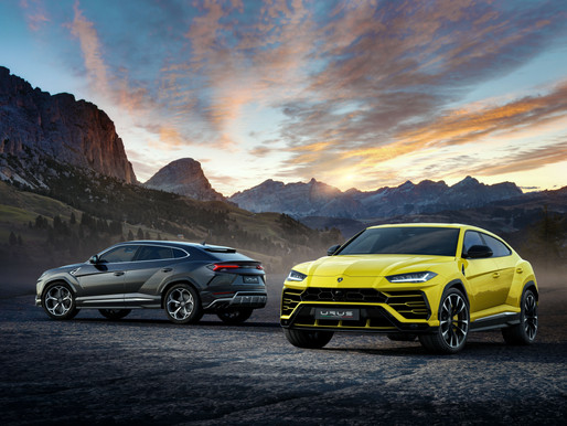 Lamborghini launches World's first Super SUV : Urus