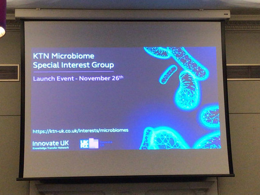Launch of the UK Microbiome Special Interest Group