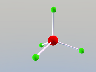 Silicon - Oxygen tetrahedron