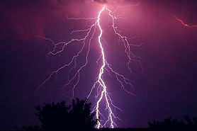 Example of electric charge:  Lightening strike