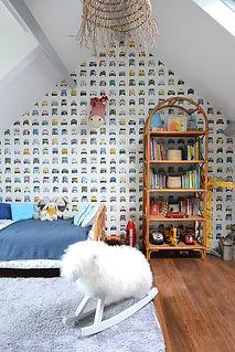 Chambre enfant, décoration intérieure, Nantes