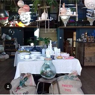Scénographie pop up store Nantes, Loft atelier bayar
