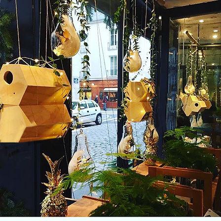 Scénographie vitrine pop up store de Noël, Nantes