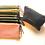 Thumbnail: Pochette doublée taille small en gaze de coton gaufrée, zip doré,10 coloris