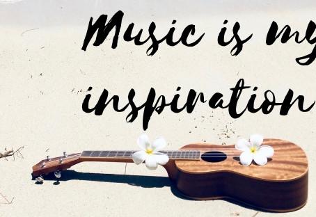 La musique est mon inspiration !
