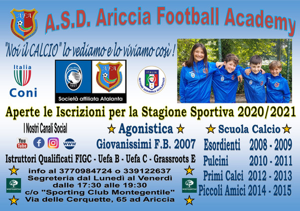 STAGIONE 2020/2021
