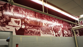 Ottawa Gee-Gees gets a beautiful new wrap-around mural.
