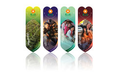 Warmhearters bookmarks