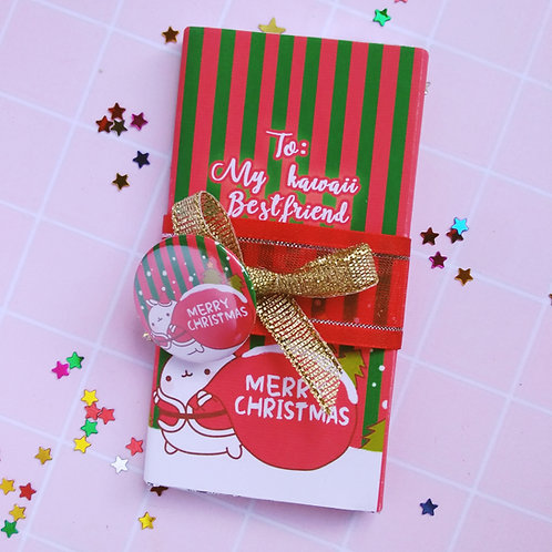 Mini combo chocolatina y gift button