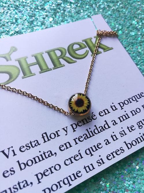 Collar Girasol Shrek