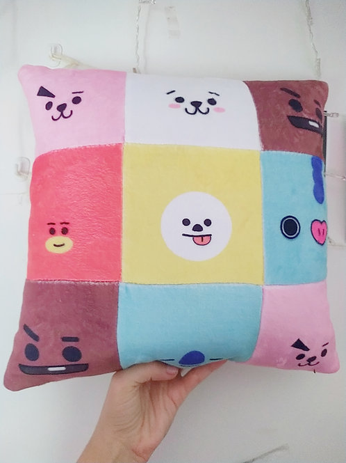 BT21 cozy pillow