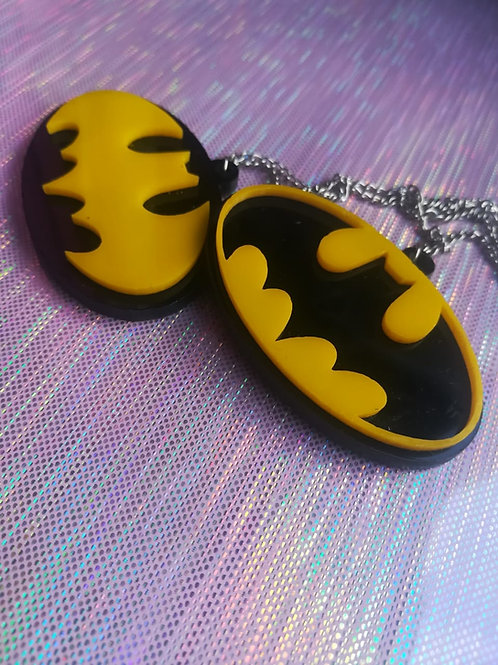 Collares dobles Batman