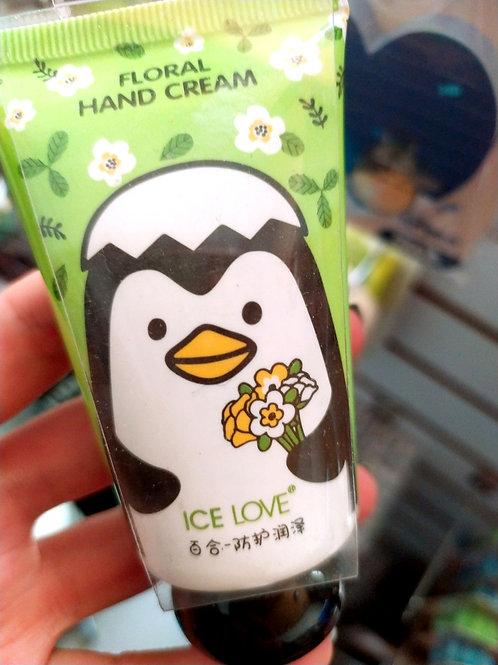 Floral hand cream