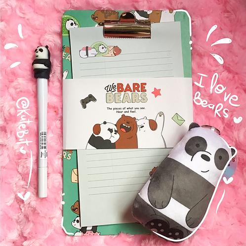 Set I love bears