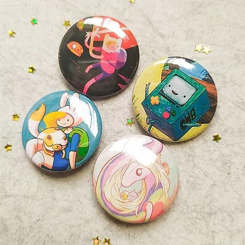 Colección botones Adventure time