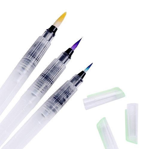 Set de tres brush recargables