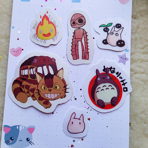 Stickers Ghibli