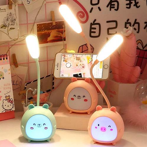 Mini lámpara kawaii (osito)
