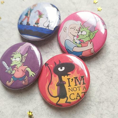 Colección botones desencanto