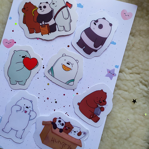 Stickers We bare bears