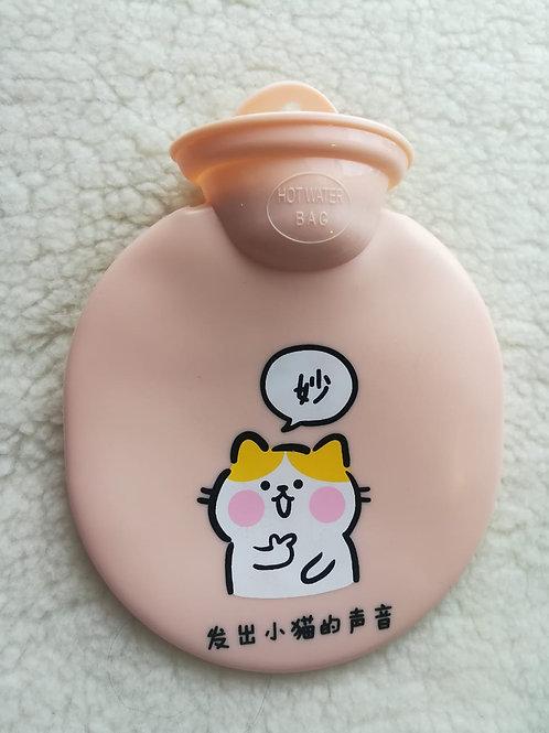Bolsa de agua caliente cartoon