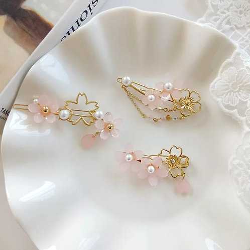 Hebilla flor de cerezo