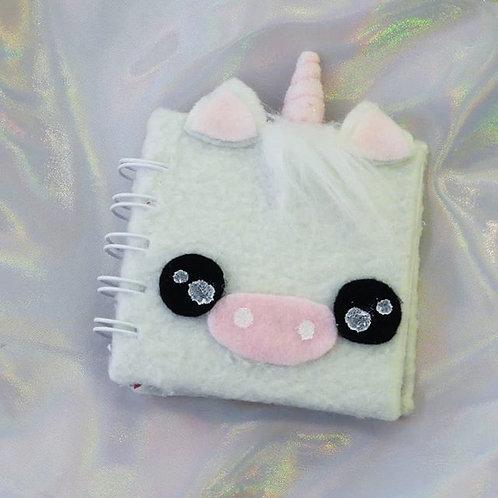 Mini libreta Fluffy unicorn